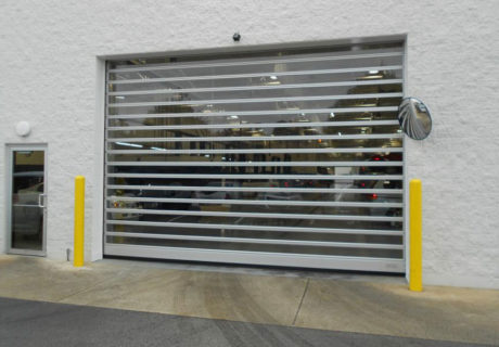 Spiral FV (Full Vision) overhead doors