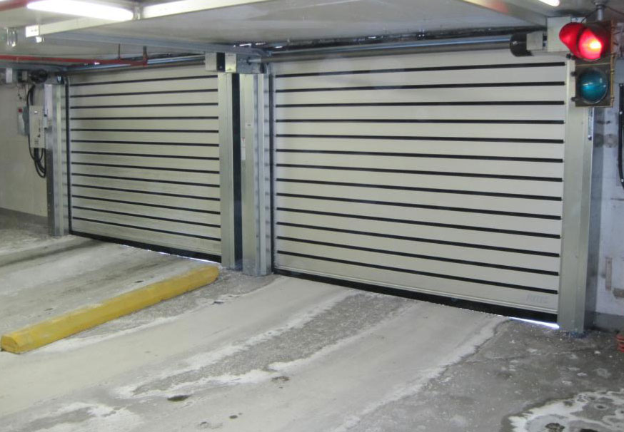 Spiral LH (Low Headroom) overhead doors