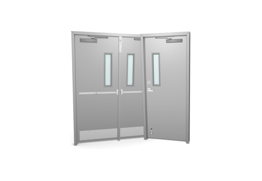 Commercial Metal Doors With Glass Kits overhead doors