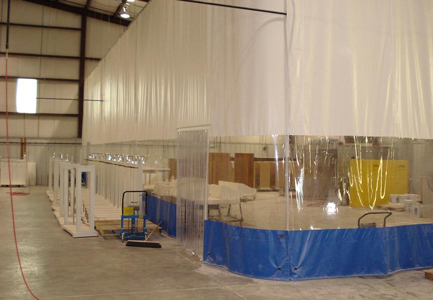 Curtain Walls overhead doors