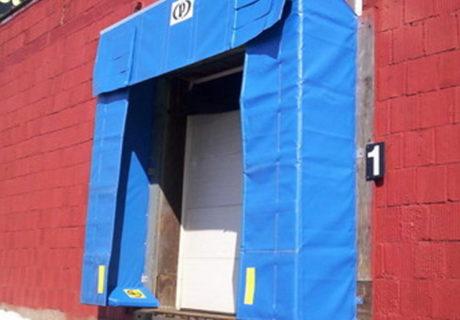 Soft Sided Shelter overhead doors