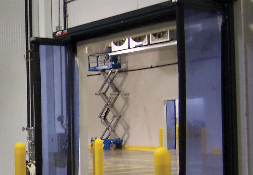 Fast-Fold Pneumatic overhead doors