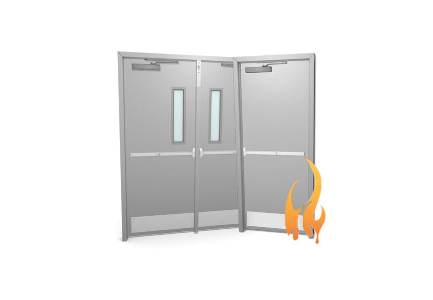 Fire Rated Metal Doors overhead doors