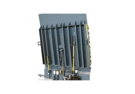 Hydraulic Rail Dock Leveler overhead doors