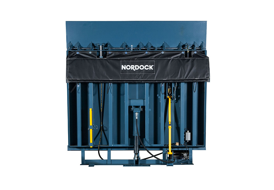 NV Vertical Storing Dock Leveler overhead doors