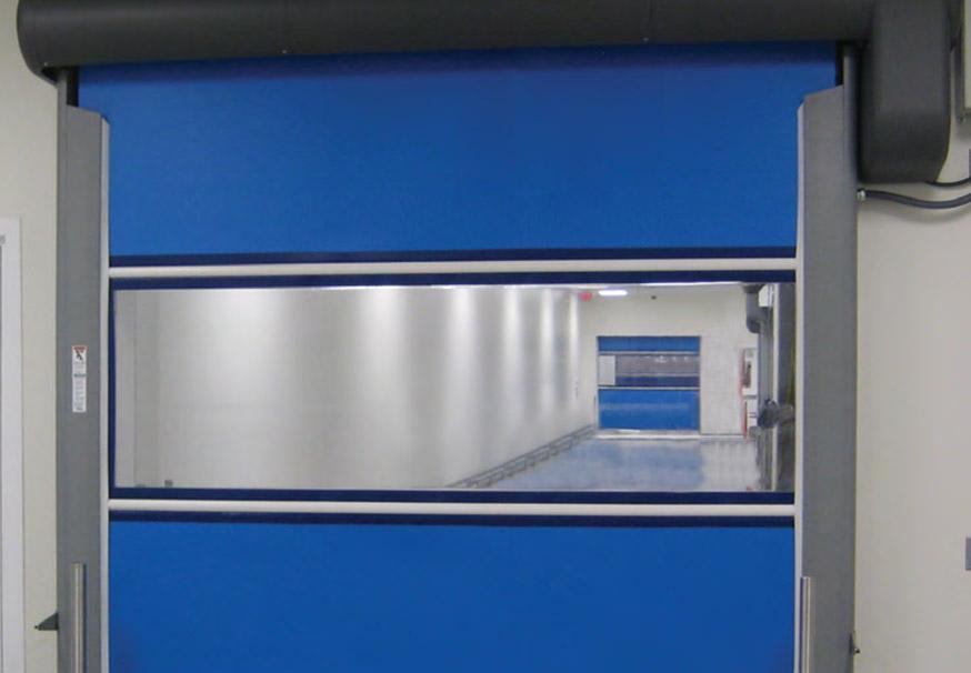 Plexline Clean overhead doors