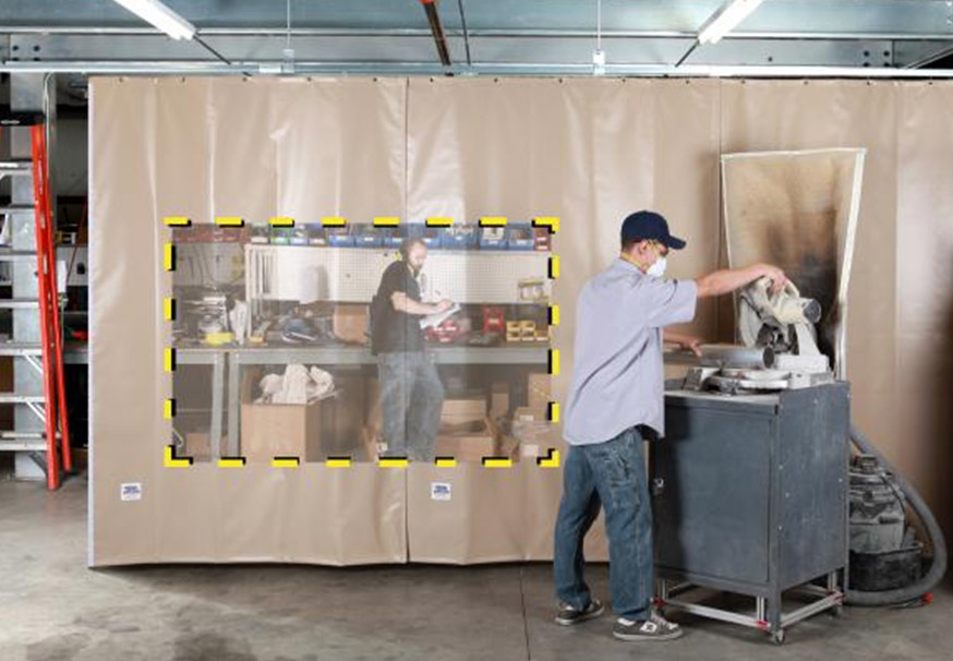 Sound Curtains & Screens overhead doors