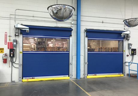 Industrial Fabric Roll Up Doors Marvin S Garage Doors