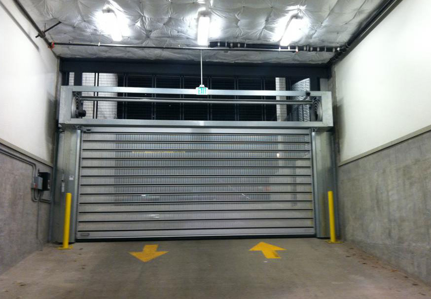 Spiral VT (Ventilated) overhead doors