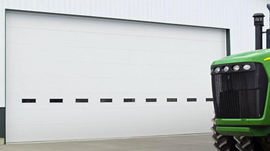 Clopay Energy Series overhead doors