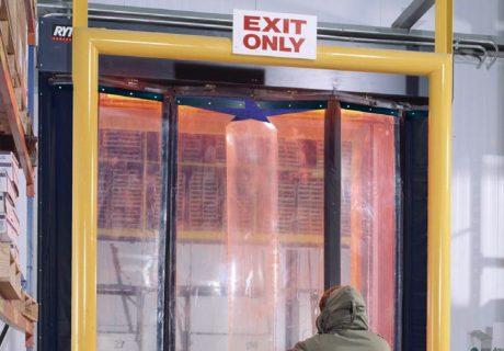 Fast-Fold Freezer overhead doors
