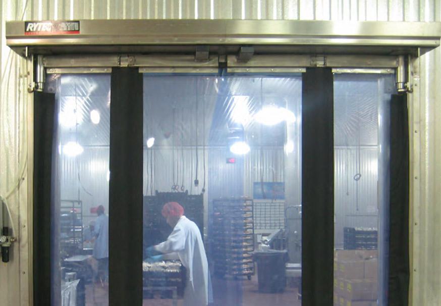 Fast-Fold Pneumatic Stainless Steel overhead doors & Fast-Fold Pneumatic Stainless Steel | Marvin\u0027s Garage Doors