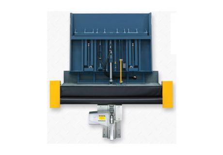 NVTL – Vertical Storing TELESCOPING-LIP™ Dock Leveler overhead doors