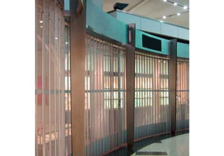 Side Folding Grilles and Closures 9100 overhead doors