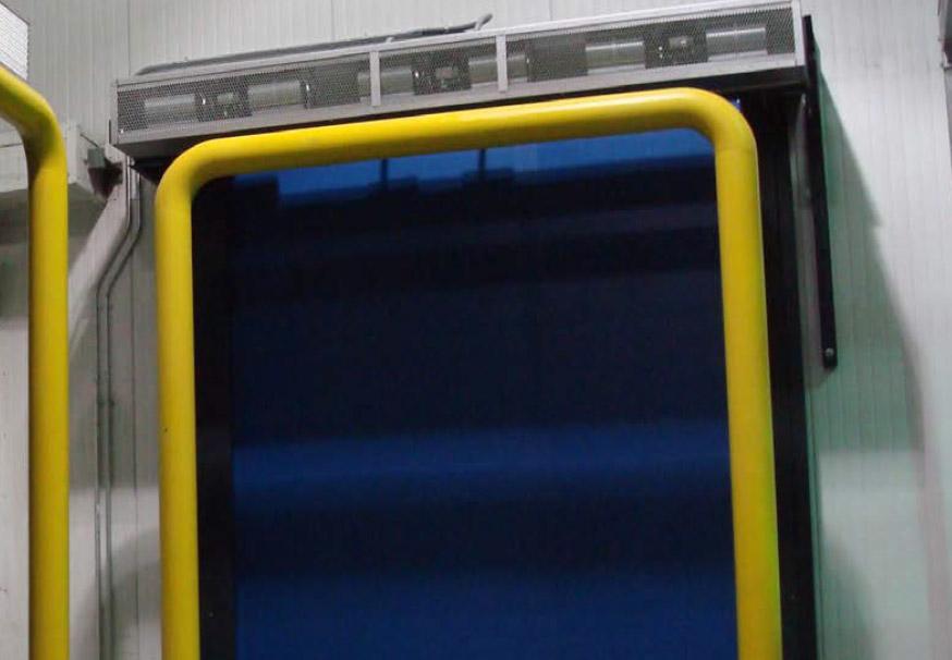 Turbo-Seal Freezer overhead doors