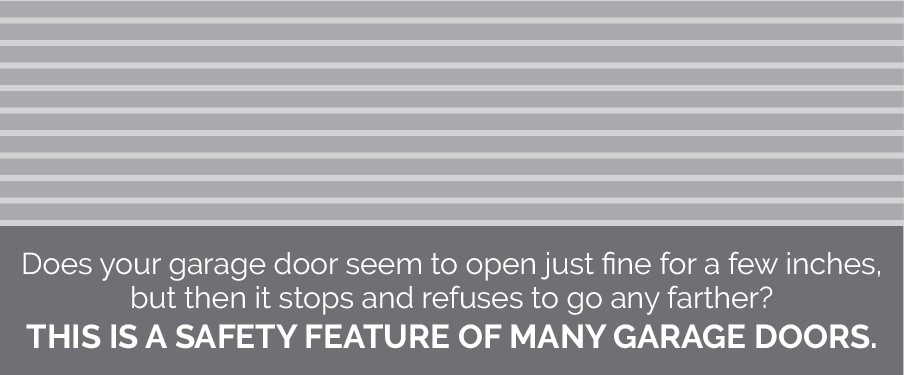 how to break in garage door