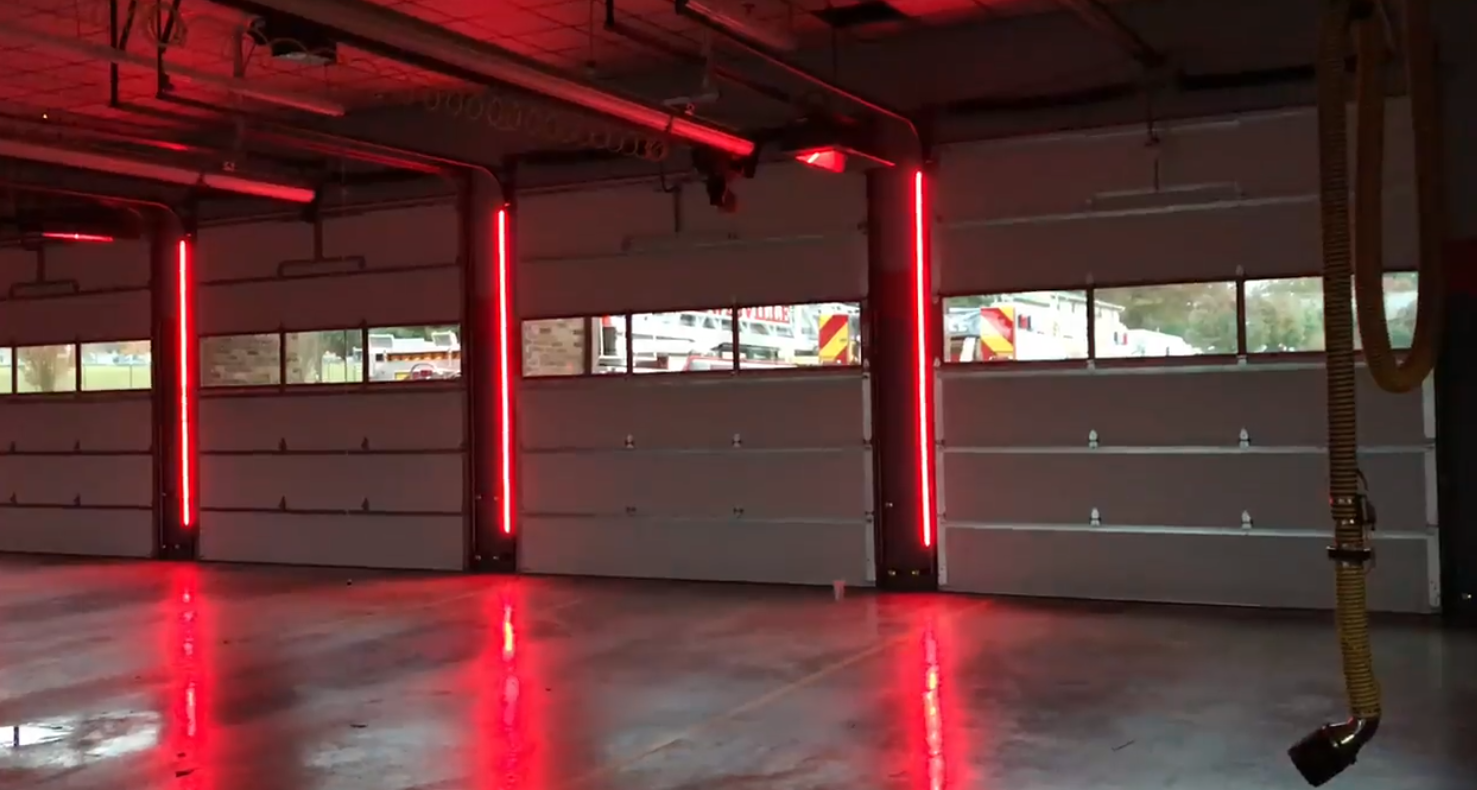 Led Warning Lights Systems Marvin S Garage Doors