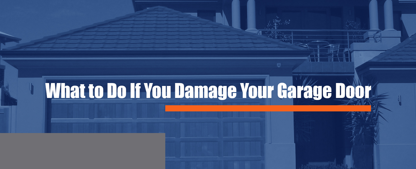 How To Open Garage Door Manually From Outside With Key what to do if you damage your garage door | marvin's garage