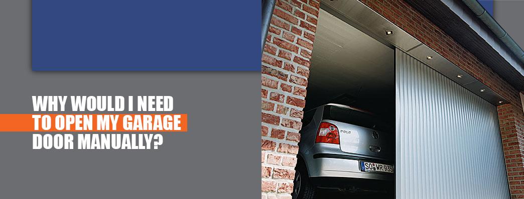 How to Manually Open Your Garage Door   Marvin's Garage Doors